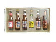 BUDWEISER - Minature Beer Bottle Collection