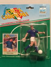 Roberto Baggio Kenner Sports Figure Soccer, NIB, Comes With Player Card