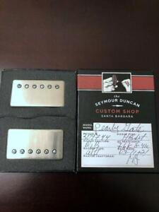 Seymour Duncan Custom Shop Pearly Gates Humbucker Set Aged Nickel