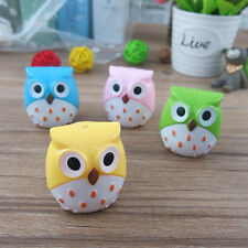 2X Cute Lovely Owl Pattern Pencil Sharpener School Kid's Favorite Beautiful Gift