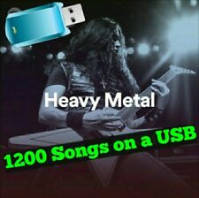 Greatest Hits HEAVY METAL Collection 16gb USB with 1200 MP3 Songs of 33 Artists