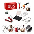 7 in 1 SOS Survival Kit Emergency Gear Tactical Equipment Outdoor Tool Camping