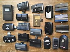 Lot Of 20 Pre-owned Openers & Remotes Liftmaster Chamberlain Genie Linear