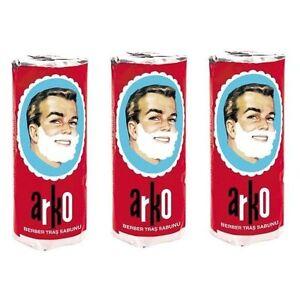 ARKO SHAVING SOAP STICK 3 X 75.gr TURKEY BARBER`S  SOAP / OLDSKOOL- shaving soap
