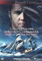 Dvd **MASTER AND COMMANDER ♦ SFIDA AI CONFINI DEL MARE** con Russel Crowe 2003
