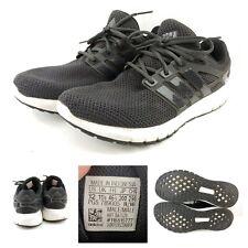 ADIDAS Sz 12 BA7520 Men's Black/White ENERGY CLOUD WTC Running Shoes - L5