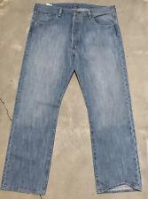 Levi's 501 Original Fit Straight Leg Button Fly Jeans Men's 38x30 Blue