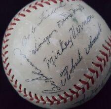 1960 Pittsburgh Pirates facsimile signed baseball
