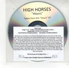 (FS597) High Horses, Hours - 2014 DJ CD