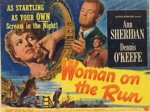 Woman on the Run 1950 Film Noir Ann Sheridan DVD
