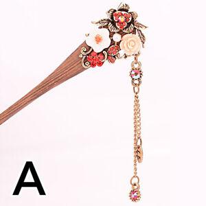Vintage wood Chopsticks Hair Stick Hairpin Fork Hair Hairpin Women Accessories