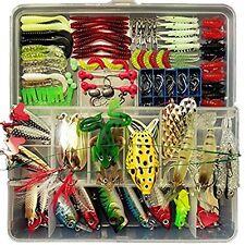 Fishing Lure Set 180pcs Set Artificial Bait Lure Plastic Fishing Lures Minnow