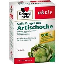 DOPPELHERZ Galle-Dragee mit Artischocke 50 St