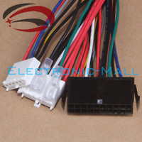 18AWG 20Pin ATX to 2X 6Pin AT PSU Converter Power Cable Cord for 286 386 486 586