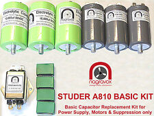 Studer A810 Tape Recorder Motor Upgrade Kit for All 3 Motors
