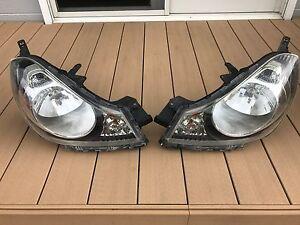 JDM Nissan Wingroad Advan Ad Van Y12 Headlights Lights Lamps Set OEM