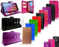Pour Huawei Honor 5x Kiw-L21 Nouveau Portefeuille Cuir Téléphone COQUE + Verre