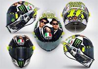 Casco integrale Agv Pista Gp R Valentino Rossi Misano 2016 limited taglia L