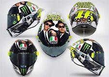Casco integrale moto Agv Pista Gp R Valentino Rossi Misano 2016 limited taglia S