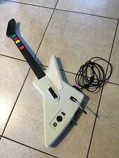 Guitar Hero X-Plorer Wired Controller Xbox 360 Red Octane Gibson Explorer