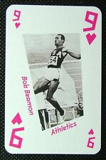 1 x playing card London 2012 Olympic Legends Bob Beamon Athletics 9H