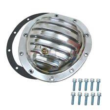 """GMC Chevy Truck 8.5/"""" Chrome Steel Front Differential Cover 77-90 Bolts /& Gasket"""