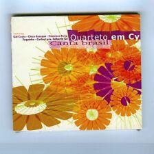 CD (NEW) QUARTETO EM CY CANTA BRASIL (TOQUINHO G.GIL C.BUARQUE GAL COSTA)