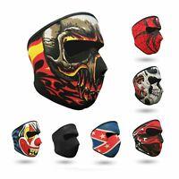 Neoprene Full Face Mask Motorcycle Skiing Snowboarding Bike Ski Quad Venom Skull