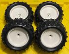 TRUCK Tire Set W 4PCS SQUARE DRIVE For FG Smartech Nutech Duratrax Carson 1/5 RC