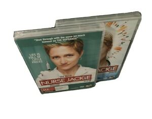 Nurse Jackie Season 1 & Season 2 DVD 3 Disc Sets Brand New PAL Region 4