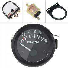 """2"""" 52mm 100 PSI Digital Blue LED Oil Pressure Gauge With Sensor Auto Car Motor"""