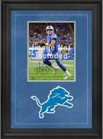 "Detroit Lions Deluxe 8"" x 10"" Vertical Photograph Frame with Team Logo"