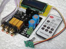 DIY KIT PGA2310 Stero Remote Volume Controller Preamp preamplifier audio