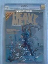 HEAVY METAL #1, 1977, Richard Corben, CGC = 9.6, NM+, more in store