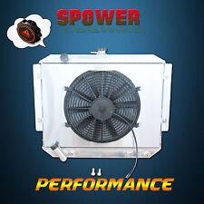 Aluminum Radiator + Fan Shroud For Mitsubishi Pajero NH NJ NK 3.0L V6 Petrol