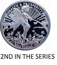 1 OZ SILVER COIN TOM GRINDBERG GRACE FAIRY HEALTH+PROSPERITY  MARVEL + DC ARTIST