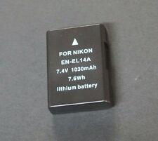 Battery for Nikon D5300 D5200 D5100 D3300 D3200 D3100 DF / EN-EL14A DH8864