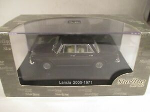 Starline Lancia 2000 Berlina brown 1:43 MIB