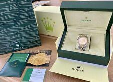 Rolex Watch Box Case Submariner Oyster Datejust Green Geneve Suisse & Paperwork