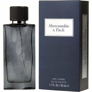 Abercrombie & Fitch First Instinct Blue Cologne For Men Edt Spray 1.7 oz / 50 ml