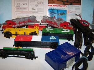 SF Twin Engine Train Set w/o box, HO