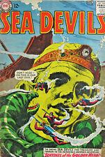 Sea Devils #16 DC Comic Silver Age 1964 VG+
