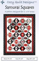 Samurai Squares Quilt Pattern - Cozy Quilt Designs