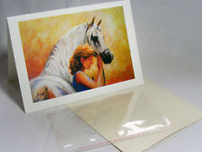 Horses Greeting Card: Beautiful Art Print