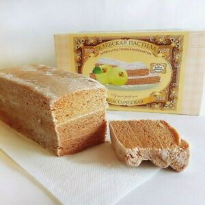 """Russian Natural Handmade Sweets """"pastila Belevskaya"""" 200 g 