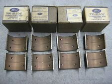 4 Rod Bearings 1939 1940 1941 1942 Ford V-8 90 HP 221 CID 81A-6211-A6 STD