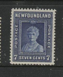 NEWFOUNDLAND #258 QUEEN MOTHER  MINT  NH