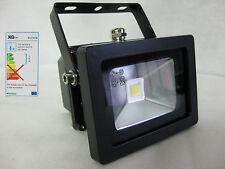 10W LED Wandstrahler Flutlicht Fluter Alu-COB-LED-Fluter 800 Lumen schwarz EEKA+