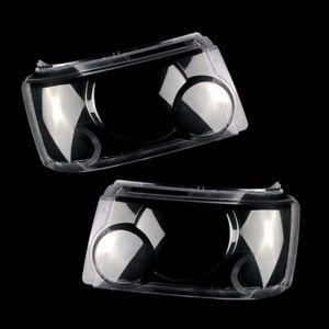 Fit for Range Rover Sport 2006-2009 1pair Headlight Lens Cover + Sealant Glue