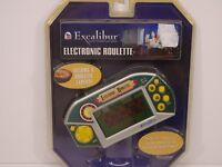 Excalibur Electronic Roulette Handheld Game New 475-CS-EXC